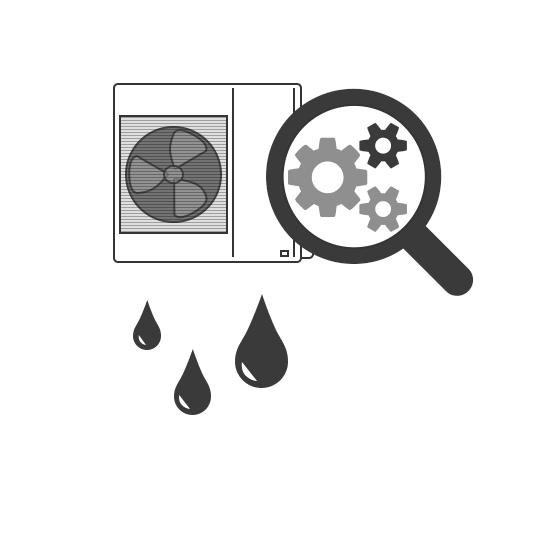 Recherche d'une panne sur climatisation air-eau