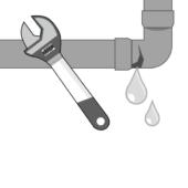 Réparation fuite tuyau