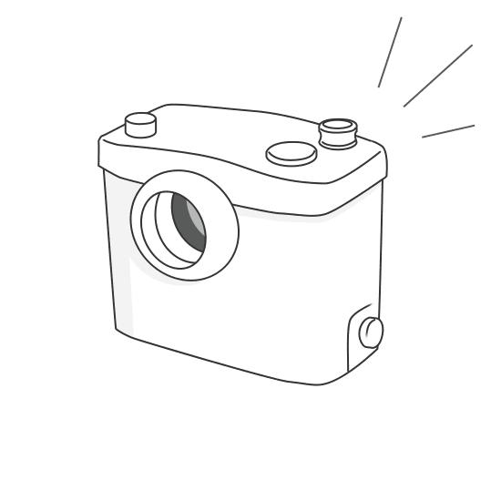 Remplacement d'un broyeur sanitaire