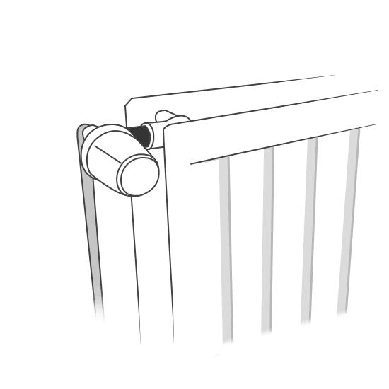 Remplacement d'un robinet de radiateur